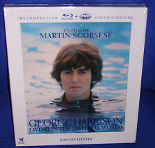 George Harrison Living in the Material World Édition Deluxe Limité  Blu-Ray NEUF
