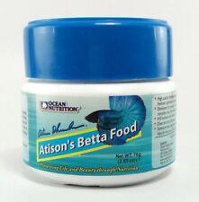 75 g Atison's Betta Food Ocean Nutrition Pellets Aquarium Tropical Fish Food
