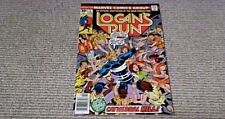 LOGAN'S RUN No. 2 US MARVEL COMICS 1976 EVEL KNIEVEL SIX MILLION DOLLAR MAN 30c