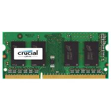 Crucial 4GB DDR3 PC3-12800 SODIMM 204-Pin 1.35V/1.5V Memory Ram CT51264BF160B