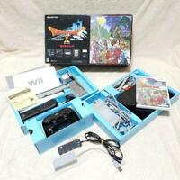 Wii Dragon Quest X Online Box limited Set Japanese Console System Nintendo JP