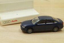 Rietze 63005 voiture Audi A6 2.8 Quattro en bleu effet perle 1/87 neuf en BO PUB