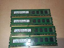 16GB - 4 x 4GB - SAMSUNG - DDR3 / 12800U  - Arbeitsspeicher - RAM