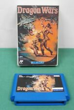 NES -- Dragon Wars -- Fake boxed. can save. action RPG. Famicom. Japan. 10898