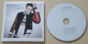 CONOR MAYNARD Can't Say No 2012 UK 2-track promo only CD Album / Instrumental