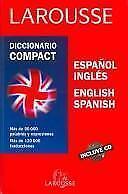 Diccionario Compact Espanol Ingles English Spanish/Compact Dictionary Spanish En