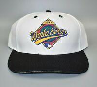 Vintage 1997 MLB World Series Logo 7 Snapback Cap Hat - NWT