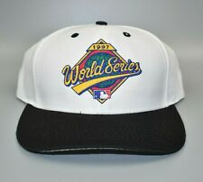 Vintage 1997 MLB World Series Logo 7 Snapback Cap Hat - NWT