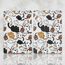 Cats iPad Pro 10.5 Cover iPad 9.7 2018 Case iPad Pro 12.9 2017 Floral iPad Cover