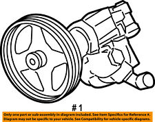 FORD OEM 08-10 F-250 Super Duty-Power Steering Pump 7C3Z3A674DRM