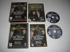 SHERLOCK HOLMES - THE CASE OF THE SILVER EARRING + Secret Weapon DVD Pc Cd Rom