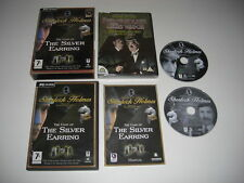 SHERLOCK HOLMES - THE CASE OF THE SILVER EARRING + Secret Weapon DVD Pc Cd Rom