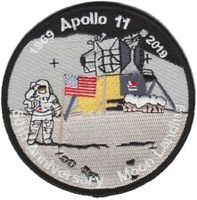 Apollo 11 NASA 50th Anniversary Moon Lunar Space Landing Custom Original Patch
