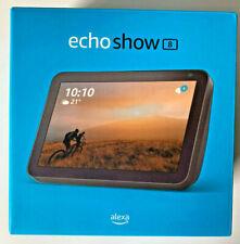 Amazon Echo Show 8 Smart Speaker Anthrazit 1. Gen 2019 Alexa Lautsprecher NEU