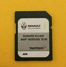 Renault TomTom R-Link SD Card Europe 2020-21 10.45 Clio Koleos megane scenic Zoe