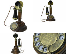 OPIS 1921 CABLE - MODEL C - vintage phone / retro telephone made from real wood,