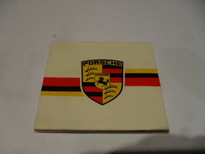 Streichholzschachteln ,  Porsche , Emblem ,