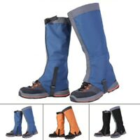 Outdoor Climbing Hiking Snow Ski Shoe Leg Cover Boot Legging Gaiters Waterproof