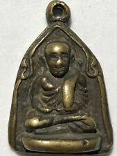 KING COBRA SNAKE PHRA LP RARE OLD THAI BUDDHA AMULET PENDANT MAGIC ANCIENT IDOL1