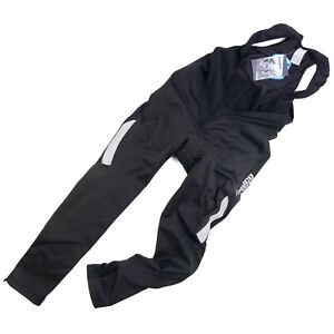 Zimco Men's 2XL Cycling Bib Pants Fleece Thermal Lined Bicycle Bottoms Black New