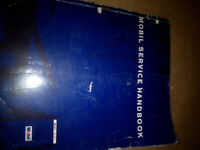 Vintage Mobil Service Handbook