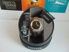 Citizen Eco-Drive 30mm Diamond Accented High Polished & Brushed SS Solar Watch