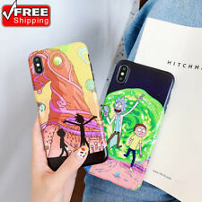 Clean Rick and Morty Soft TPU Phone Case Cover For iPhone 11 SE 2020 XR 6s 7Plus