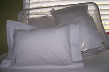 4 COMFOREL INVISTA Decorative Bed Pillows + 4 Shams Set Made in CANADA      VGC
