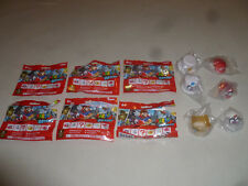 BRAND NEW SUPER MARIO ODYSSEY MASCOTS FULL SET OF 6 MYSTERY BOTTLE CAP HAT