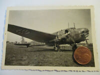 Org. Foto Belgien (?) Beute Flugzeug Bomber  mit Kennung - Tarnfarbend Top Motiv