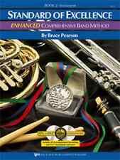 "Kjos ""Standard Of Excellence Enhanced"" Music Book 2 W/Cd Alto Saxophone New Sax!"