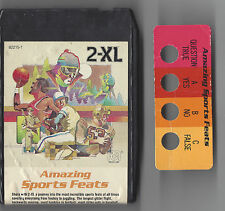 Mego 1970'S 2-Xl Talking Robot 8 Track Player Tape Amazing Sports Feats Tested
