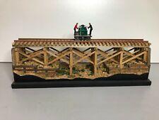 Ponte in legno, wooden bridge, Far West , scala HO spur HO  Lima Roco Rivarossi