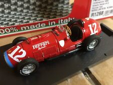 BRUMM FERRARI 375 F1 diecast model TEST car Alberto Ascari 1952 1:43rd  R126B
