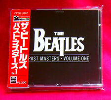 The Beatles Past Masters Volume One JAPAN CD CP32-5601