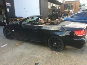 BMW 335i 3 Series 2008 Convertible - Now Wrecking (#115) - One used nut only