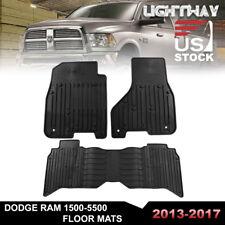 13-17 Dodge Ram 1500-5500 Crew Cab TPE mat floor liner set floor mat OEM