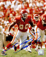 Neil Smith Signed Kansas City Chiefs 8x10 Photo - SCHWARTZ COA