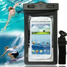New Waterproof Underwater Pouch Dry Mobile Phone Cover Case Bag with Wrist Strap