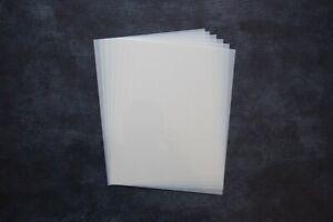 Mylar Sheet  190 Micron Stencil A6 A5 A4 A3 Painting Art Craft Laser