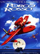 PORCO ROSSO Affiche Cinéma Originale 80x60 ROULEE Miyazaki 1992 Kurenai no buta