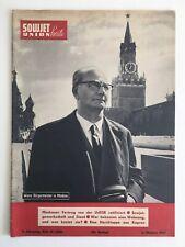 6.10.1963 Heft 40 Sowjetunion heute Jonas in Moskau Sibirisches Öl inkl. Beilage