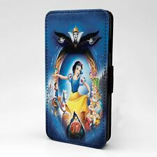 For Apple iPod Touch Flip Case Cover Snow White Cartoon - T1175