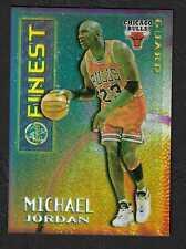 1995 FINEST MYSTERY BORDERLESS REFRACTOR #M1 MICHAEL JORDAN STUNNING