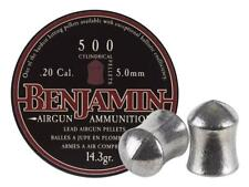 Benjamin Cylindrical .20 Cal, 14.3 Grains, Pointed, 500ct Model# P50