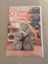 Me To You Xmas Cards for Daughter, Granddaughter, Goddaughter including 3D