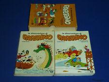 LE DISAVVENTURE DI PAPERINO 2 VOLUMI E COFANETTO 1° Ed. 1975 - OTTIMO + !!