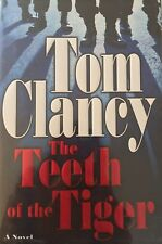 THE TEETH OF THE TIGER BY TOM CLANCY *SIGNED*FIRST ED*
