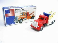 Vintage Tomica F63 Usa - Holmes Power Wrecker Made In Japan Rare