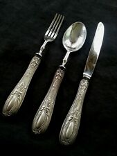 800 Continental silver Solingen Fork/Spoon/Knife